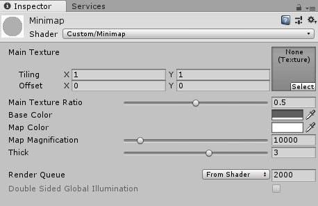 Unityでシェーダーを使ってミニマップを自動生成する - Qiita