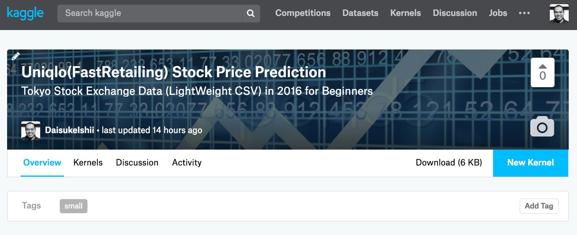 Kaggle Stock Prediction
