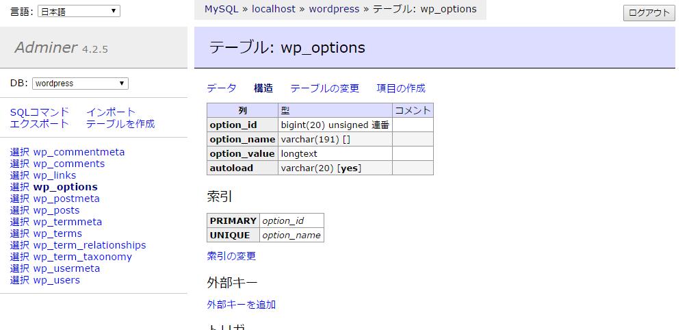 テーブル  wp_options   Adminer.png