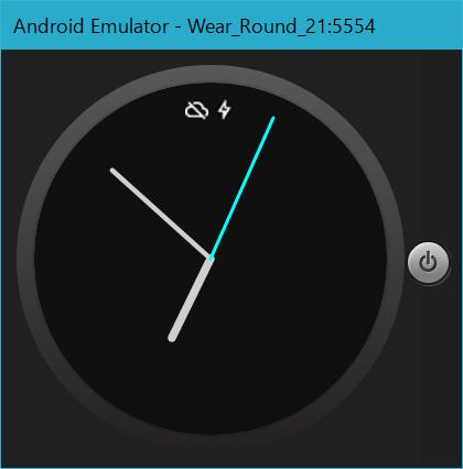 今回作成したアナログ時計