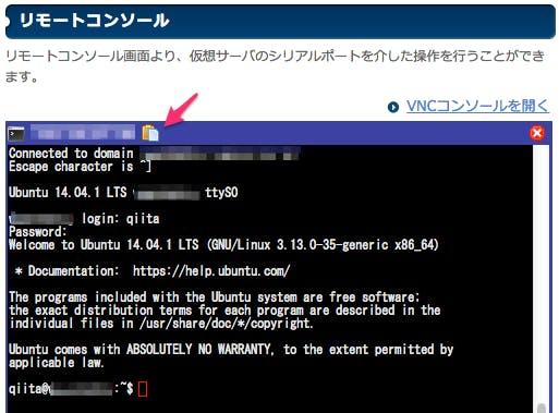 sakura-remote-console-paste.png