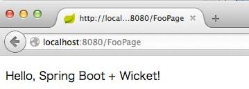 Spring Boot + Apache Wicket - Qiita