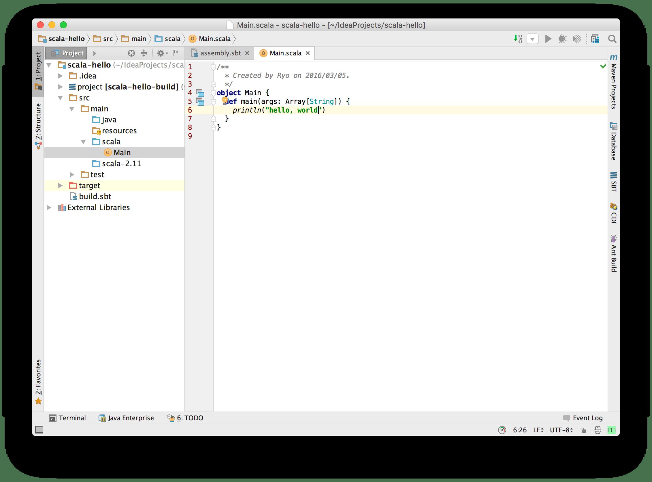 IntelliJ IDEAでScalaの実行可能jarを作る - Qiita