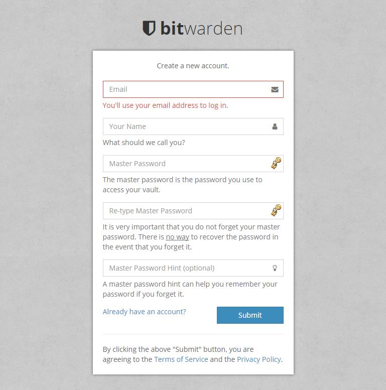 Register bitwarden Web Vault.png