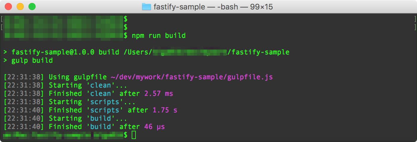 fastify-sample_—_-bash_—_99×15.png