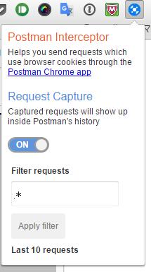 Postman Intercepter