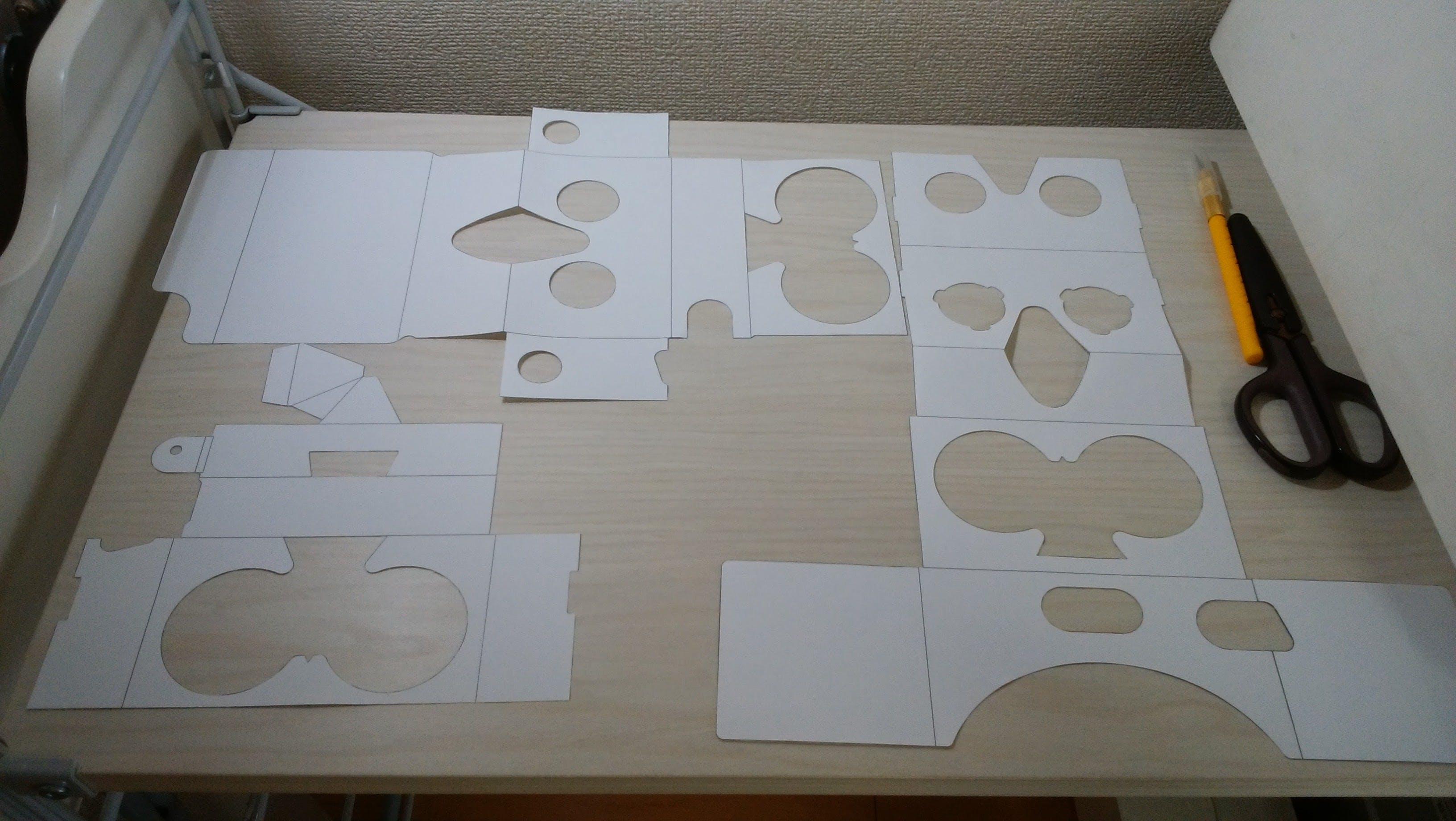 Google Cardboardを最新の設計図で自作する方法 Qiita