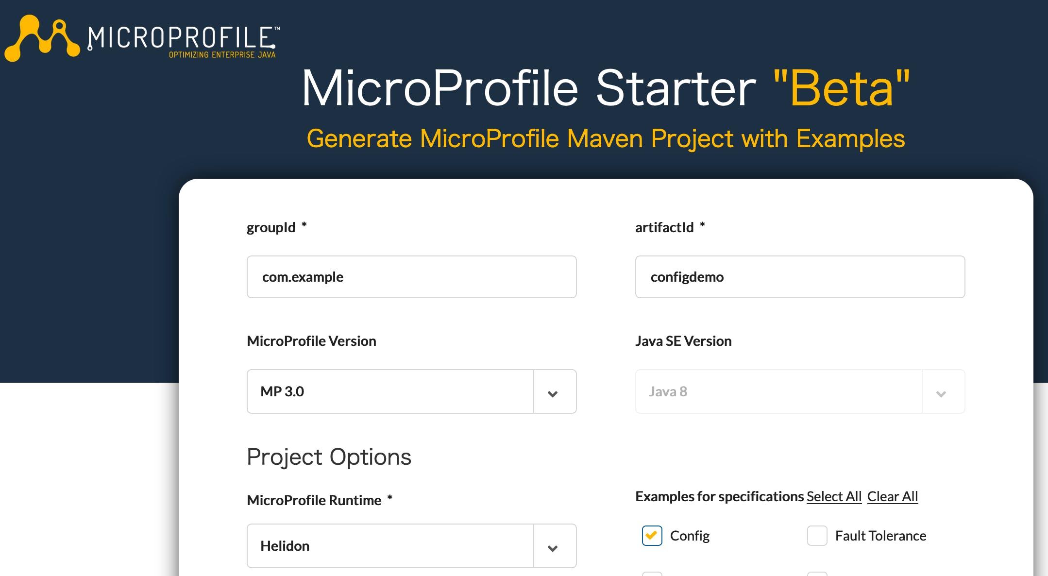 Eclipse MicroProfile Configについて