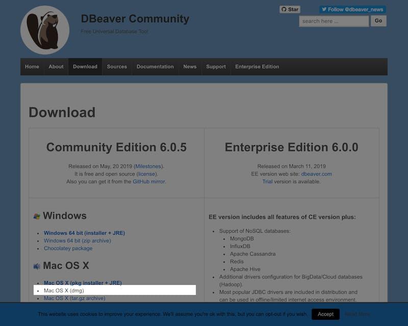 Dbeaver Download Mac
