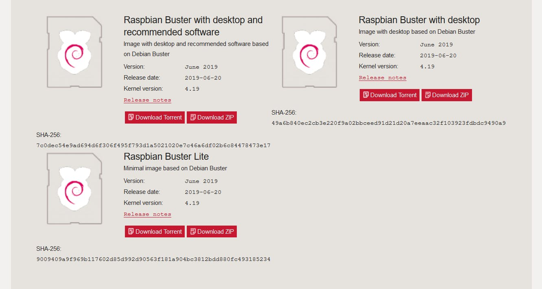 Raspbian Buster Lite