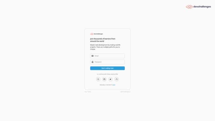Authentication App