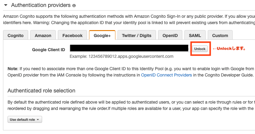 GCP APIs OAuth client ID Google Provider