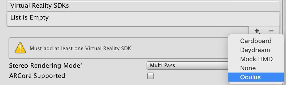 Oculus Sdk Unity