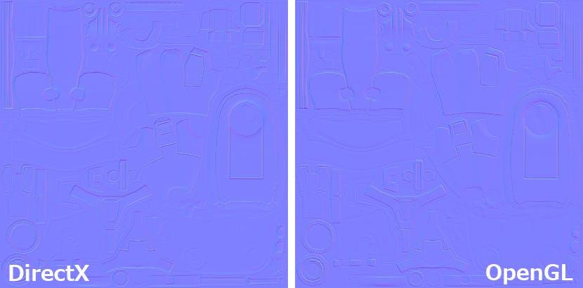 Substance Painter で読み込んだNormal mapの上下が逆転している際の対処