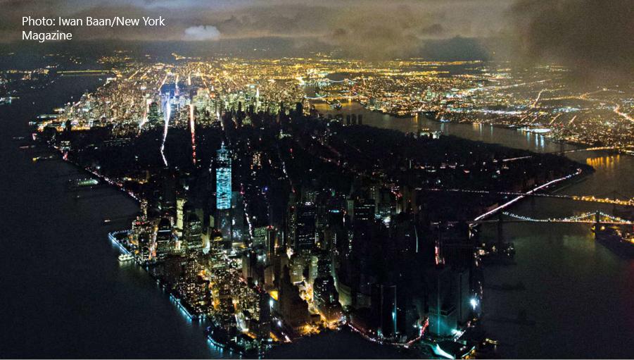 ニューヨーク大停電