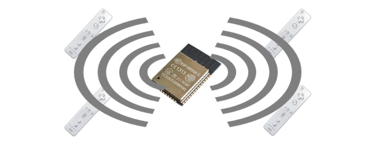 BTstackのexampleを使って、ESP32でWiiリモコンのBluetoothデバイス