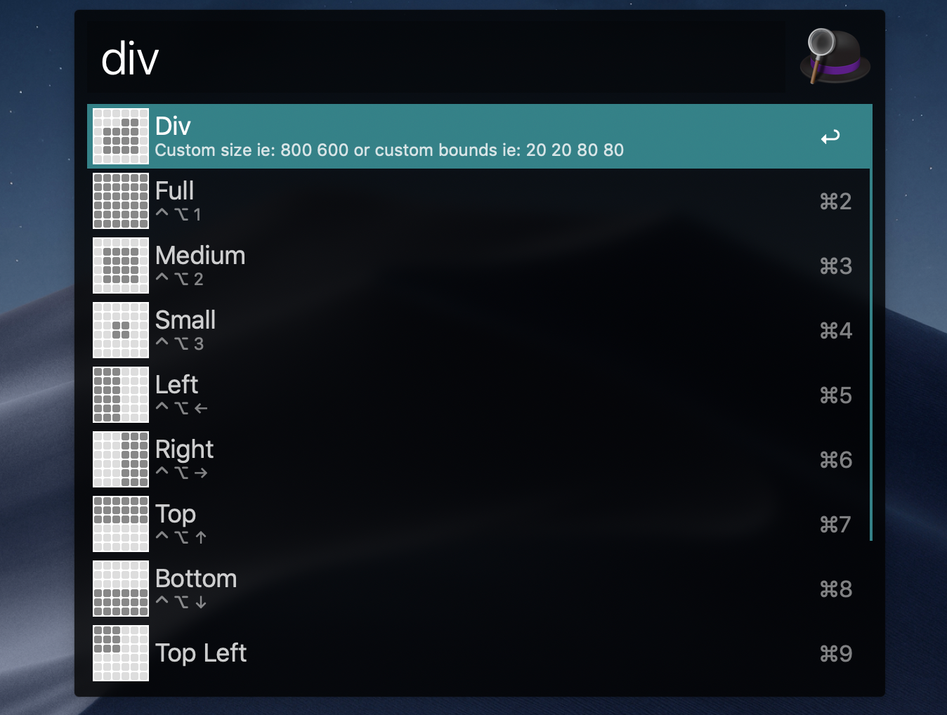 div workflow