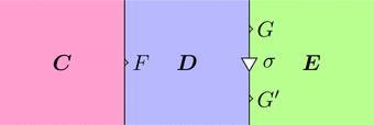 関手Fと自然変換sigma(ストリング図)