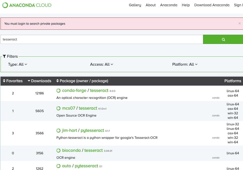 Anacondaだけで環境を構築して、Python+OCRをやってみる - Qiita