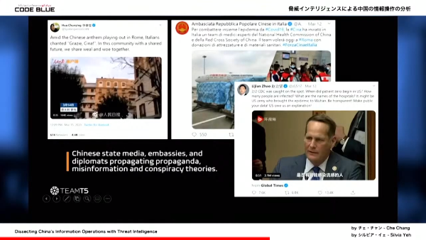 Chinese state media, embassies, and diplomats