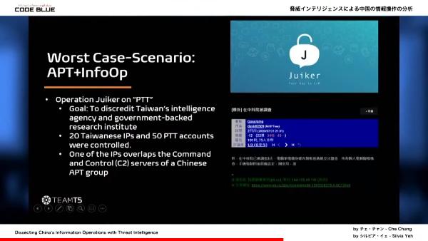 Worst Case-Scenario - APT + InfoOp