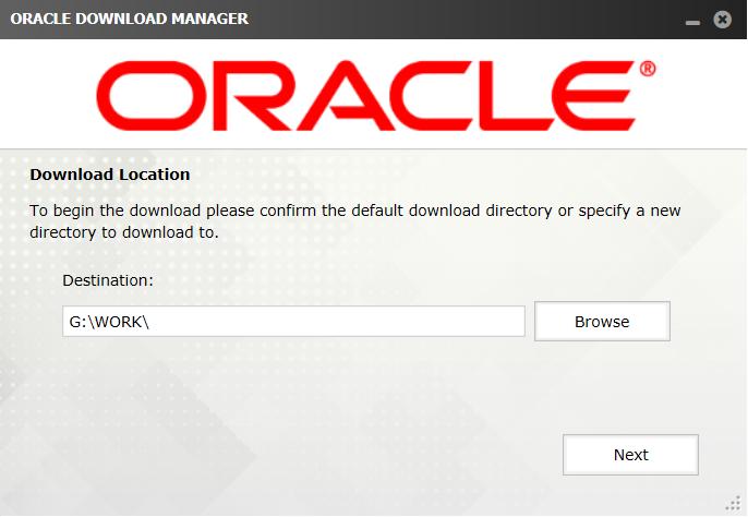 Oracle Linux Downloader