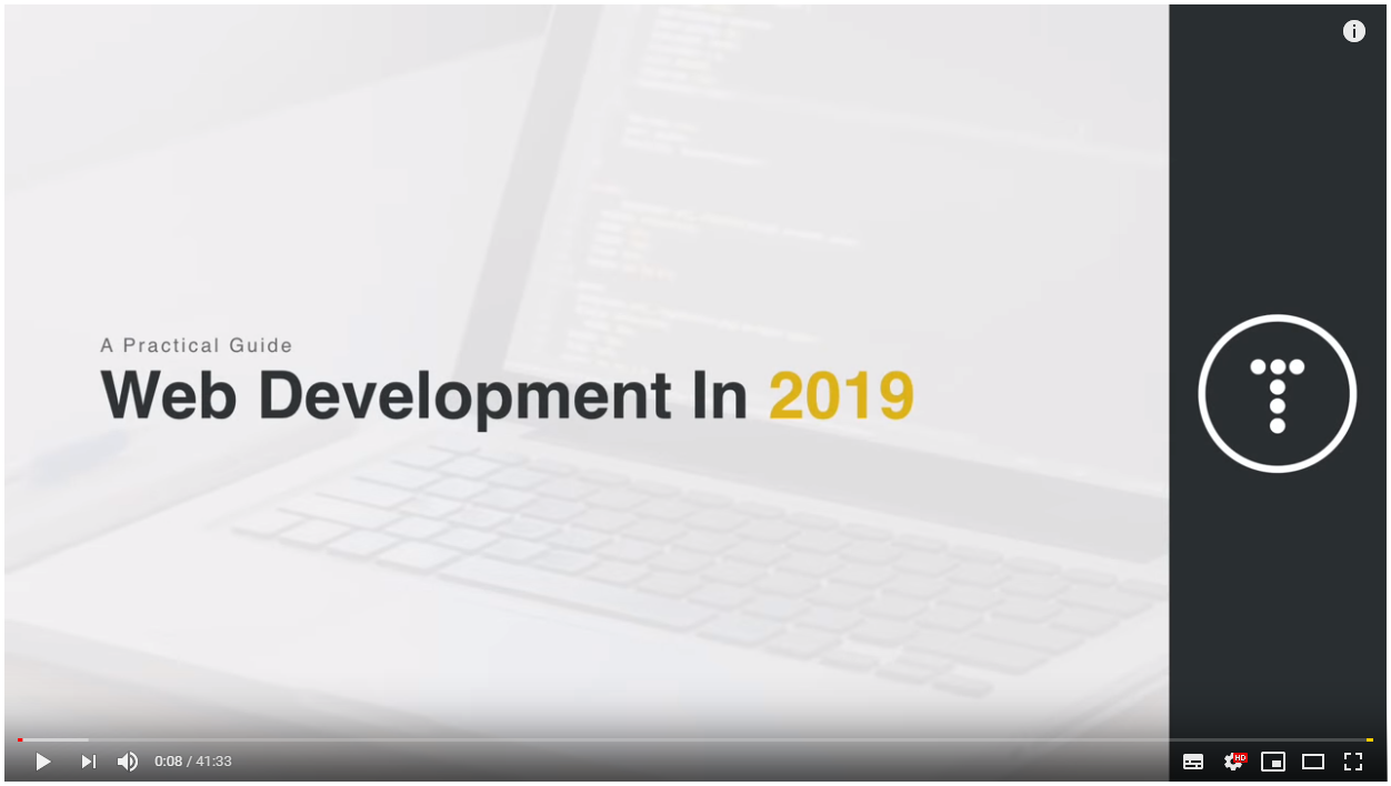 web-development-in-2019 https://youtu.be/UnTQVlqmDQ0