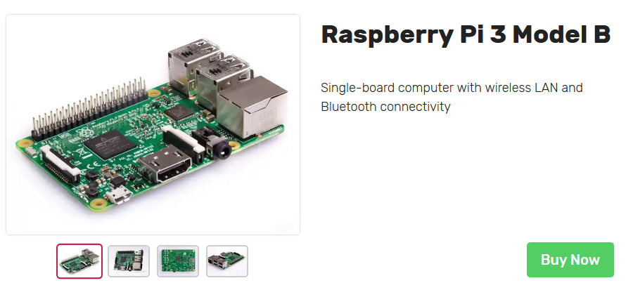 もはや旧型のRaspberry Pi 3 model B