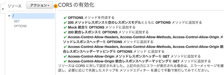 enable cors