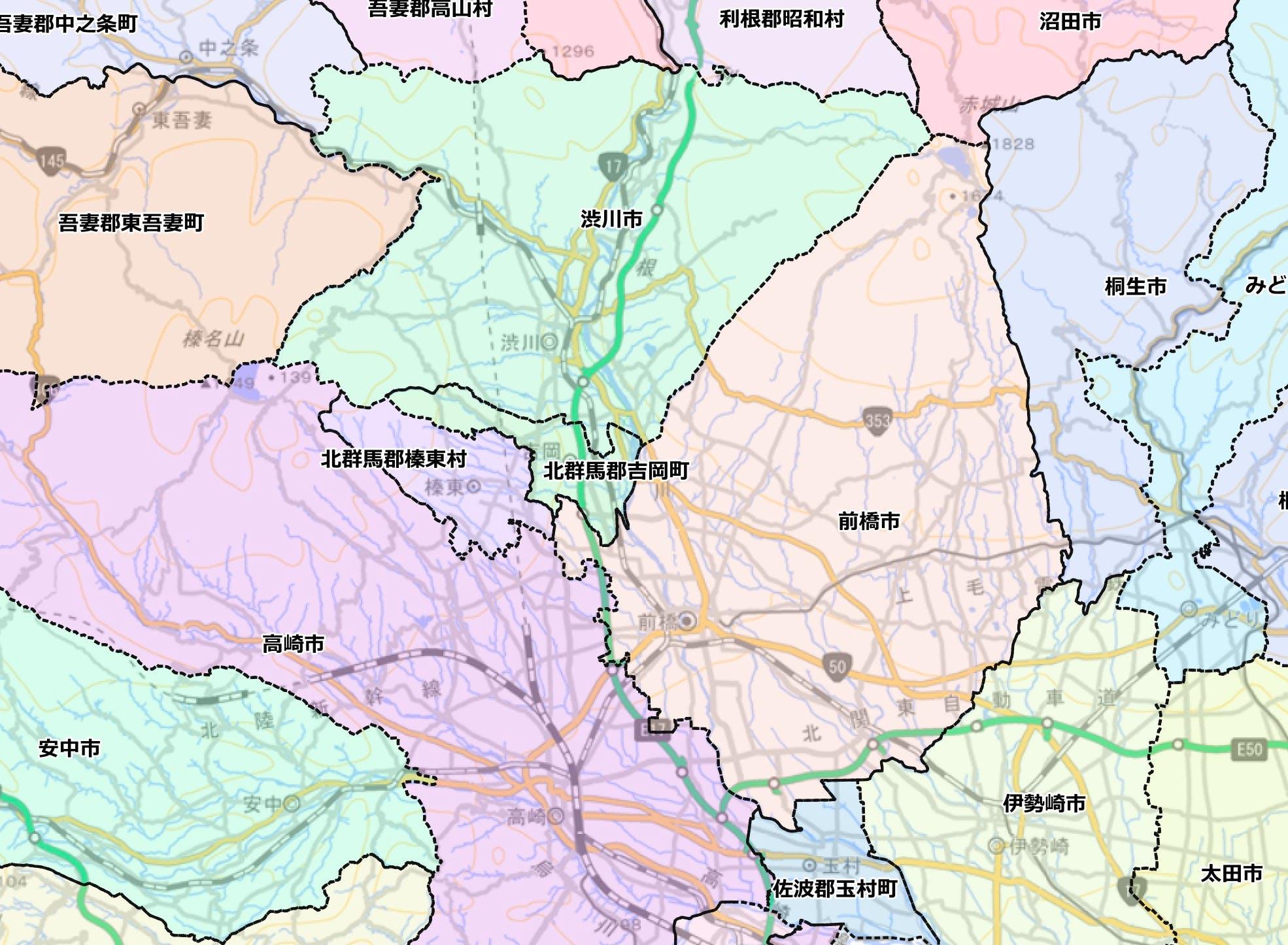国土数値情報 行政区域データ