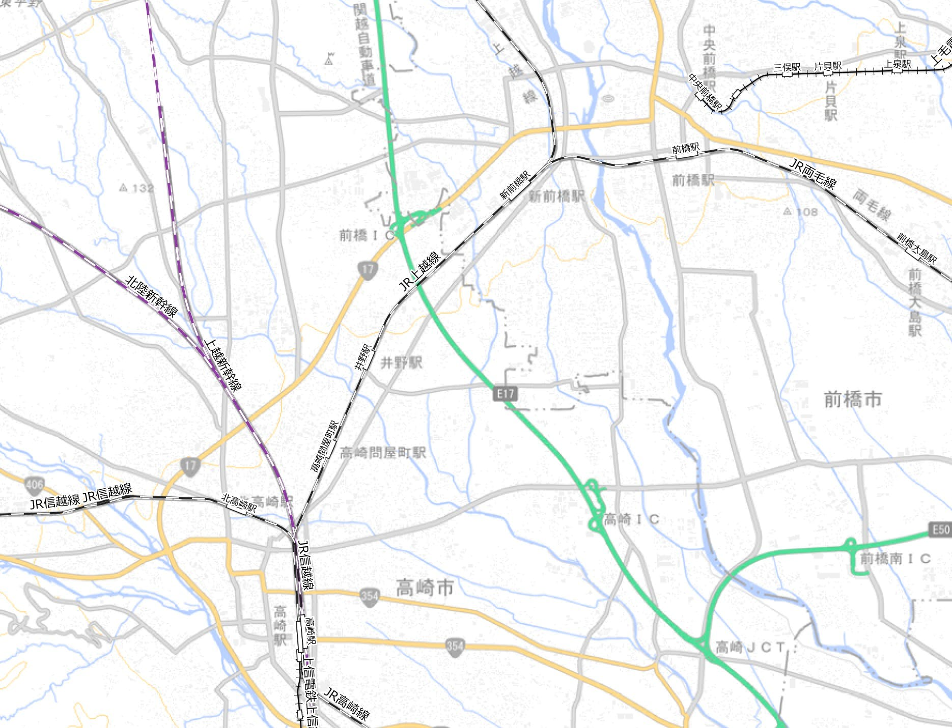 国土数値情報 鉄道データ