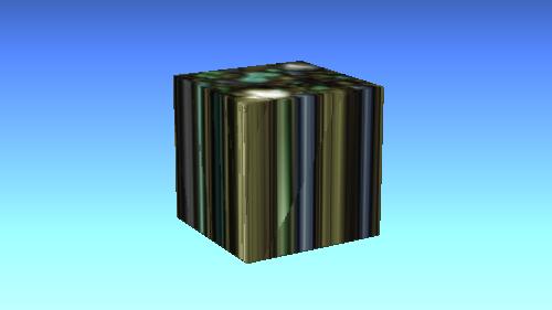 (0, 1, 0)の投影