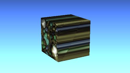 (0, 0, 1)の投影