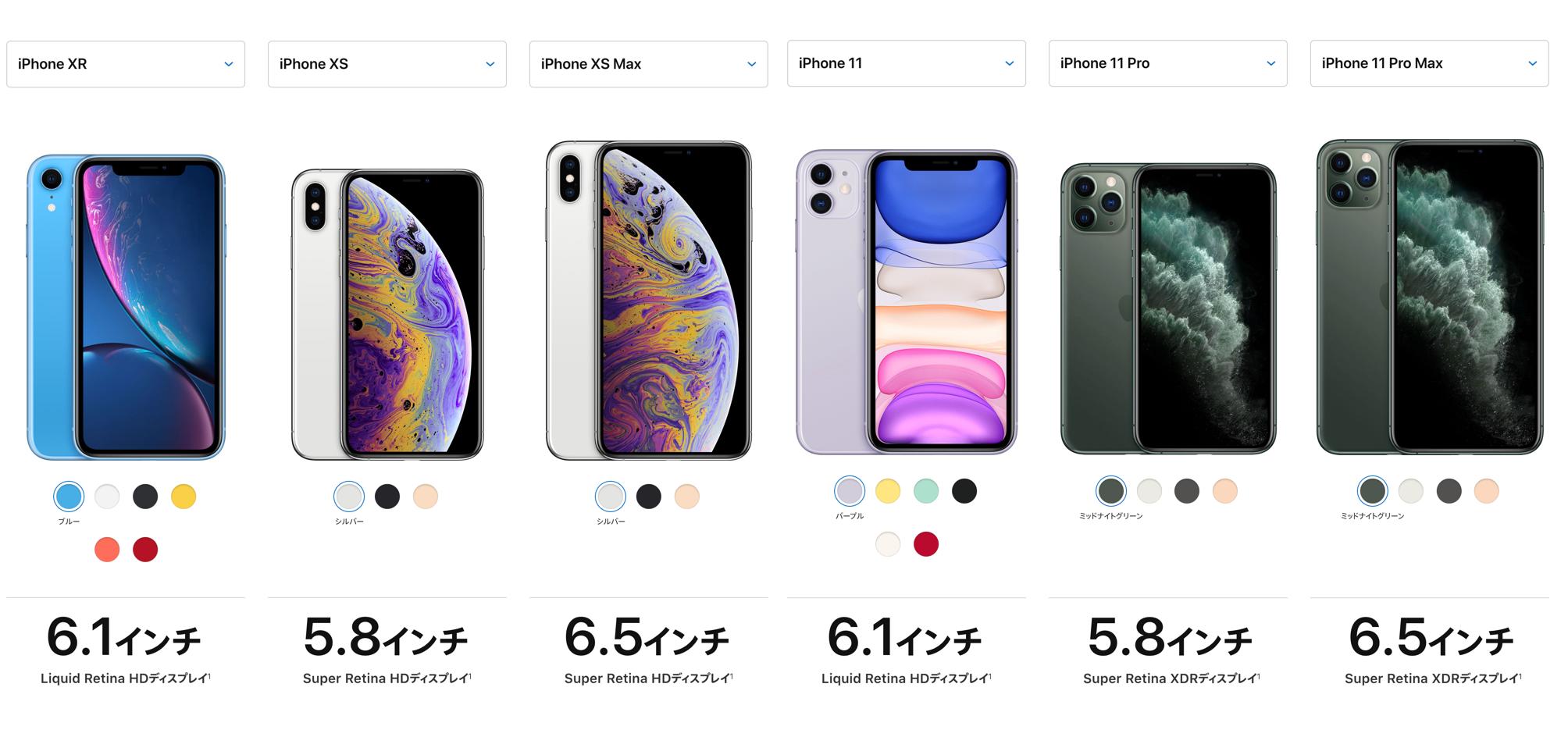 iphone 11 サイズ