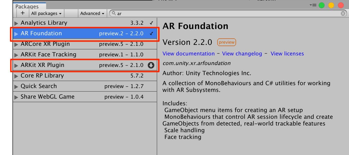 UnityでARKit3を動かすためにAR Foundationを使ってみる - Qiita