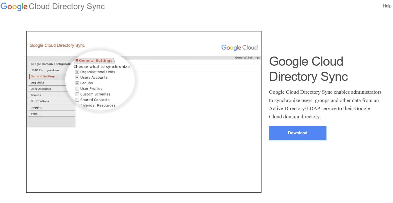 Google Cloud Directory Sync(GCDS)を試す - Qiita