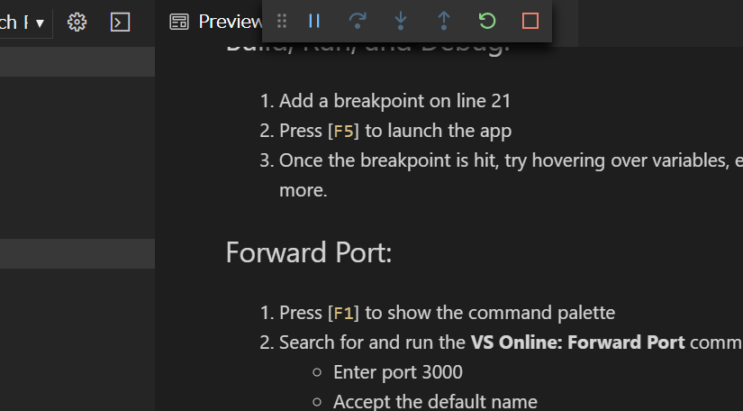 Preview README.md - workspace [VS Online] - Visual Studio Code - Insiders - vsonline+41b8eb17-8519-4868-af34-2f59a88df4b4 - Google Chrome 2019-11-05 10.18.15.png