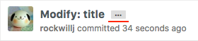 Expand Commit Messages before